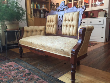 Antique Eastlake Parlor Sofa