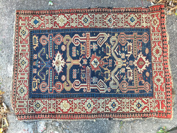 "Brilliant Little Rug, 2'7""x3'6"""