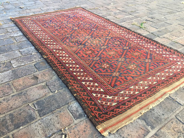"""Persian Baluch, 2'7""""x4'9"""""""