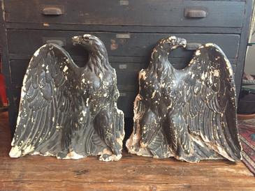 Architectural Plaster Eagles