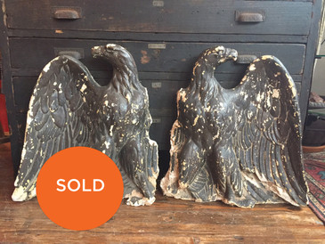 Architectural Plaster Eagles