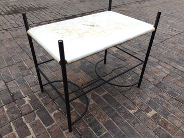 Industrial Porcelain Table