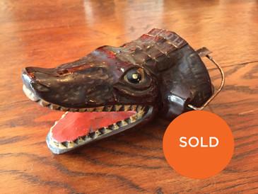 Crocodile ashtray
