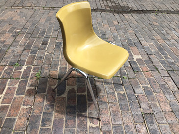 Vintage Brunswick Chair (Mustard)