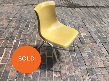 Vintage Brunswick Chair (Mustard)