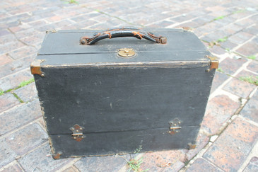 Early 1900s Travel Tool Box or Display Case