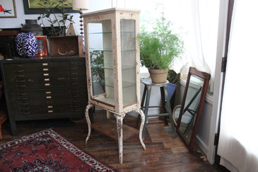 Antique Medical Apothecary Cabinet