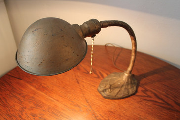 Vintage Art Deco Gooseneck Desk Lamp