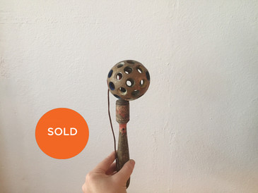 Vintage Ball and Stick Toy, Wooden Balero
