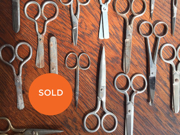 Collection of  Vintage Scissors. 21 assorted pieces