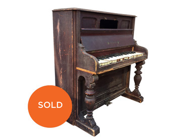 Antique Toy Piano made by Schoenhut, circa 1900