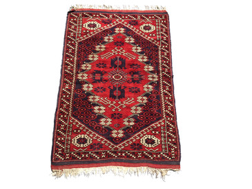"Central Anatolian Vintage Wedding Rug, 5'3"" x 3'4"""