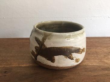 Vintage Studio Pottery, Mottled Bowl