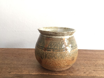 Vintage Studio Pottery, Small Planter circa 1970