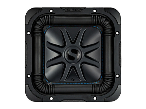 kicker 10 Inch Solo-Baric Car, Marine L7S 2 Ohm Subwoofer