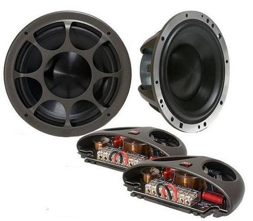 """Morel Elate Titanium 903 8-3/4"""" 3-way Car Audio Component Speaker System"""