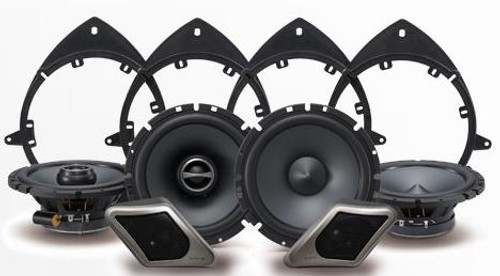 Alpine Direct Fit Restyle Speaker System For Select GM Trucks and SUVS