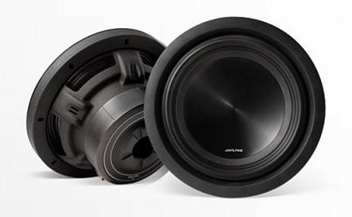 Alpine 10 Inch Truck Subwoofer With 4-Ohm Voice Coil - SWT-10S4