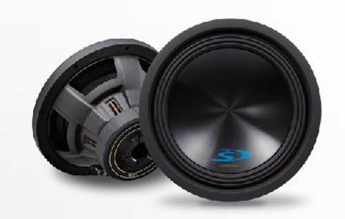 """Alpine SWS-12D4 12"""" Dual-Voice-Coil 4-Ohm Subwoofer - SWS-12D4"""