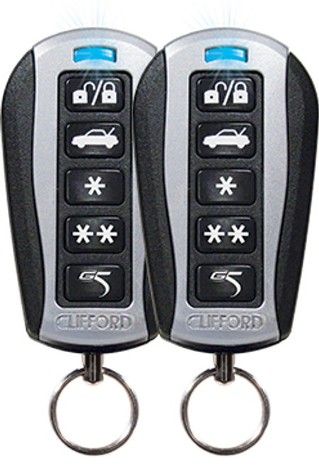 Clifford G5 IntelliGuard 770  4 Channel Security System with Optional Keyless Entry