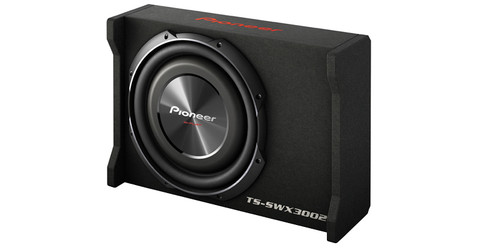 "Pioneer 12"" Shallow-Mount Pre-Loaded Car Enclosure"