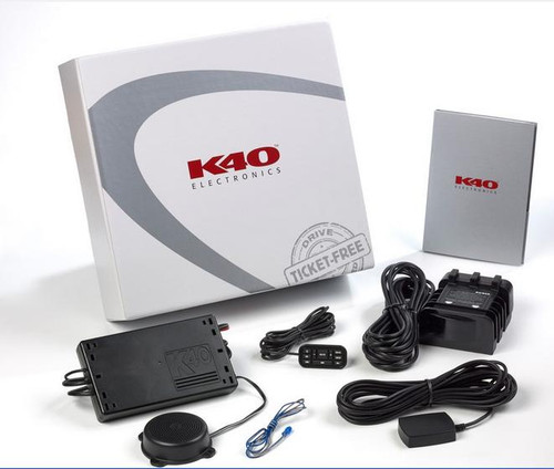 K40 RL200i Radar Detector Custom-installed front radar protection