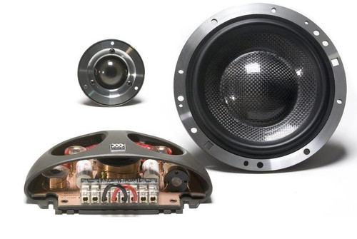 "Morel Supremo 602 6.5"" Car Component Audio Speaker System"