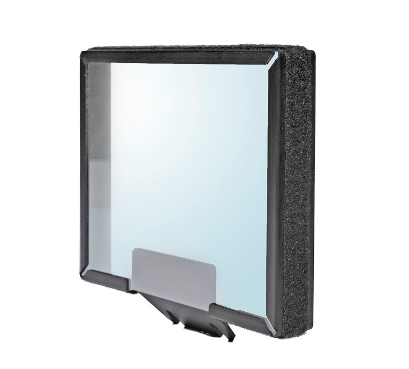 REF-UL glass and frame for Ultralight iPAD teleprompter