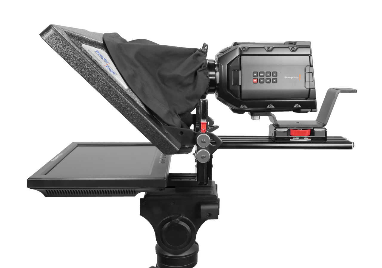 PrompterPeople ProLine Plus iPad Side