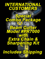 "12"" Beam Cutter PR-7000 International Combo Package"