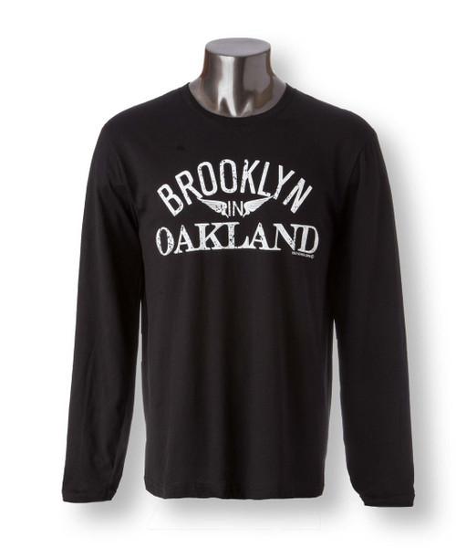 Brooklyn in Oakland Mens Long Sleeve Tee