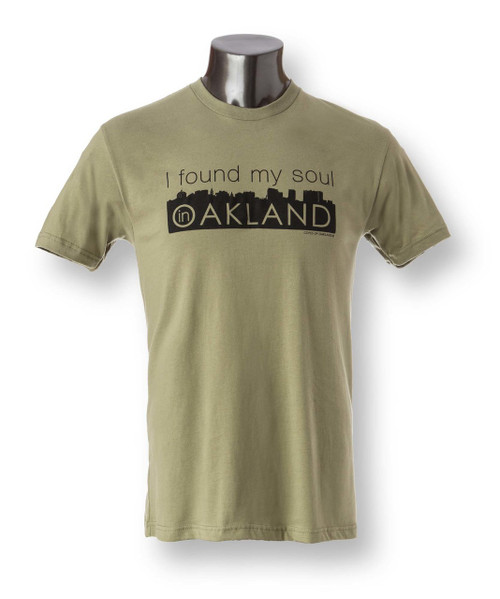 I Found My Soul in Oakland Men's Crew Neck