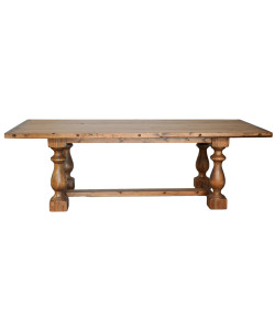 Baltic Dining Table in Old Wood Finish