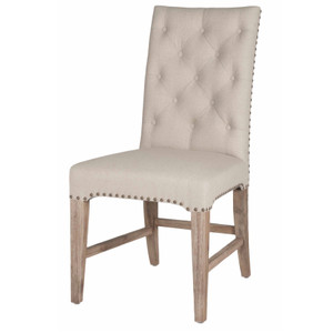 Wilshire Dining Chair In Stone Wash Set of 2
