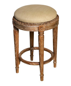 Isabelle Counter Stool, Grey Wash
