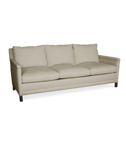 Damascene Sofa in Patton Flax