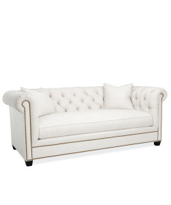 Hanne Chesterfield Sofa, White