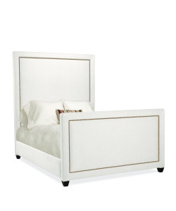 Maxwell Bed, White
