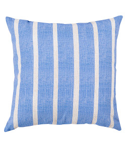 Irish and Ash Grey Stripe Pillow