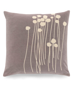 Abo Pillow, Grey and Ivory