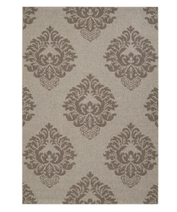 Flower Elements Rug, Grey