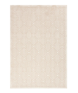 Fables Cream & Sand Machine Tufted Rug