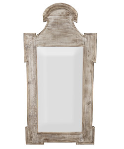Jeni Mirror, Medium Antique Painted Finish