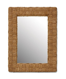 Hand Braided Spa Mirror