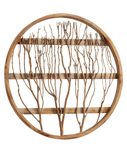 Circle Branch Wall Decor