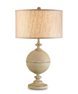 Loxton Table Lamp, Oyster Cream
