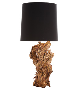 Ashland Gold Leaf Dragon Tree Root Lamp