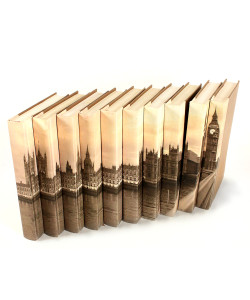 Image Collection Books - Big Ben - Set of 10