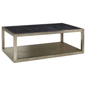 Treviso Croc Leather Coffee Table