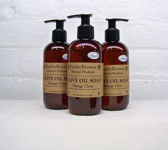 Orange Clove Liquid Soap